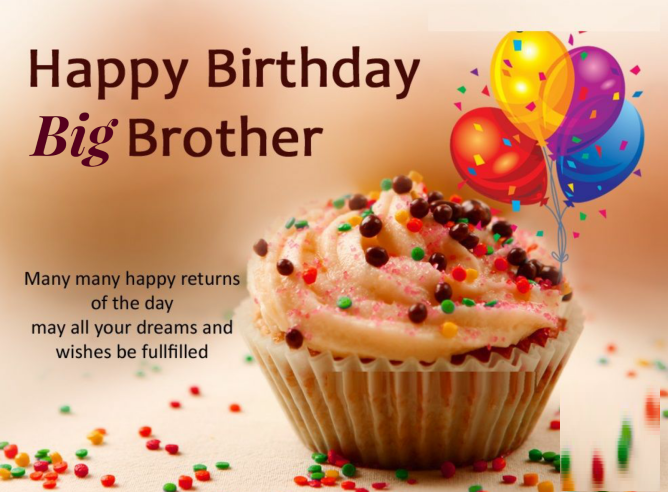Birthday Cards For Big Brother,Greetings & Images
